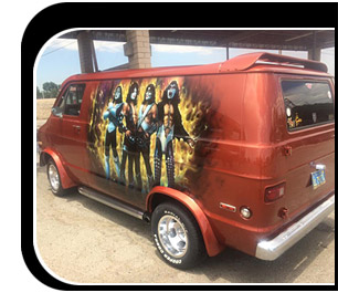 The KISS van