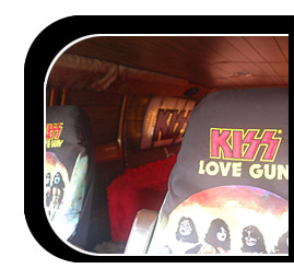 inside the KISS van