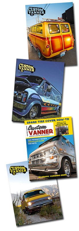 Custom Vanner Magazine Covers